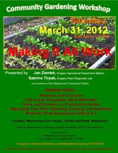 MCG Community Gardening Workshop